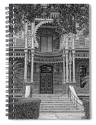 Henry B. Plant Museum Entry Bw Spiral Notebook