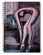 Her Blue Shoes Spiral Notebook