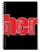HER Spiral Notebook