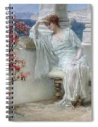 Her Eyes Are With Her Thoughts And They Are Far Away Spiral Notebook