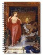 Hera In The House Of Hephaistos Spiral Notebook