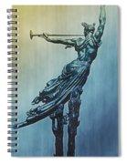 Heraldic Memorial Statue At Gettysburg Spiral Notebook