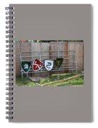 Heraldry Shields At Renfaire Spiral Notebook