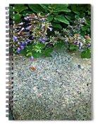 Herb Garden Walkway Spiral Notebook