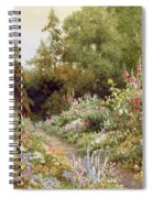 Herbaceous Border  Spiral Notebook
