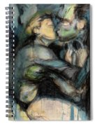 Hercule And Omphale Spiral Notebook