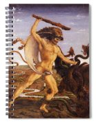 Hercules And The Hydra Spiral Notebook