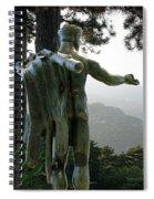 Hercules  Spiral Notebook