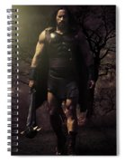 Hercules Spiral Notebook