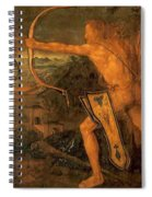 Hercules Kills The Symphalic Bird 1520 Spiral Notebook