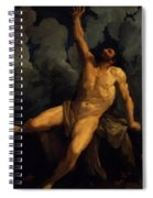 Hercules On The Pyre 1617 Spiral Notebook