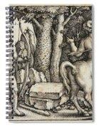 Hercules Shooting The Centaur Nessus Spiral Notebook