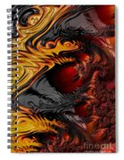 Here Be Dragons Spiral Notebook