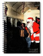 Here Come Santa Spiral Notebook
