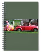 Here Comes Peter Cottontail Spiral Notebook