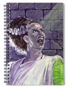 Here Comes The Bride Spiral Notebook