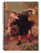 Here Comes The Gobbler Spiral Notebook