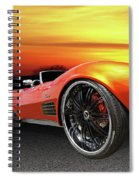 Here Comes The Sun - '72 Stingray Spiral Notebook
