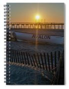Here Comes The Sun - Avalon New Jersey Spiral Notebook