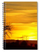 Here Comes The Sunrise Spiral Notebook