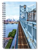 Here Comes The Train Spiral Notebook