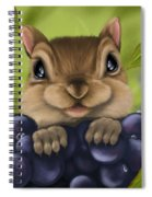 Here I Am Spiral Notebook