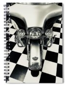 Here In The Headlights Spiral Notebook