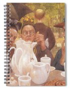 Here The Family Can Make Coffee Spiral Notebook