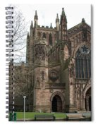 Hereford Cathedral  England Spiral Notebook