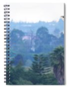 Here's Looking At You Kid.  Giraffe In Kenya Africa Spiral Notebook