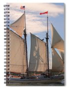 Heritage Full Sail Spiral Notebook