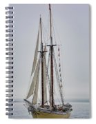 Heritage In The Mist Spiral Notebook