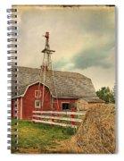 Heritage Village Barn Spiral Notebook