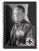 Herman Goering Portrait With His Medals Including The Blue Max Circa 1935-2016 Spiral Notebook