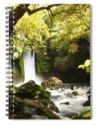 Hermon Stream Nature Reserve Banias Spiral Notebook