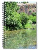 Hermon Stream Nature Reserve Spiral Notebook