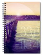Hermosa Beach California Spiral Notebook