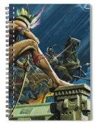 Hernando Cortes Spiral Notebook