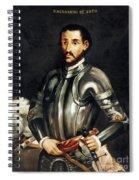 Hernando De Soto Spiral Notebook