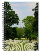Heroes And A Monument Spiral Notebook