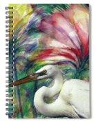 Heron Flair Spiral Notebook