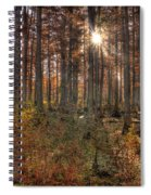 Heron Pond Cypress Trees Spiral Notebook