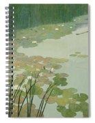 Herons In Summer Spiral Notebook