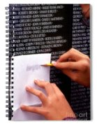 Heros Spiral Notebook