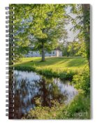 Herrevads Kloster By The Riverside Spiral Notebook