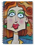 Herringbone Spiral Notebook