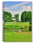 Herr's Grist Mill And Covered Bridge Spiral Notebook