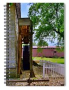 Herr's Mill And Covered Bridge 2 Spiral Notebook