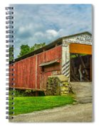 Herr's Mill Bridge - Pa Spiral Notebook