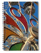 Hershey Ferris Wheel Of Color Spiral Notebook